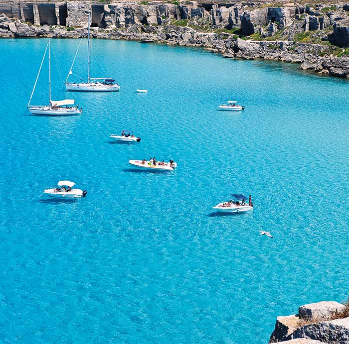 Mare and More Favignana boat tour
