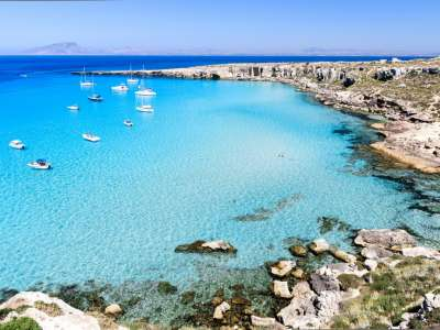 Favignana Day : Giro in Barca
